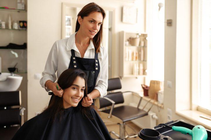 Un salon de coiffure au Havre